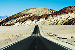 A Death Valley highway in Southern California.