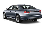 Car pictures of rear three quarter view of 2017 Volkswagen Passat R-Line 4 Door Sedan angular rear