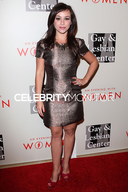 """BEVERLY HILLS, CA, USA - MAY 10: Danielle Harris at the """"An Evening With Women"""" 2014 Benefiting L.A. Gay & Lesbian Center held at the Beverly Hilton Hotel on May 10, 2014 in Beverly Hills, California, United States. (Photo by Celebrity Monitor)"""