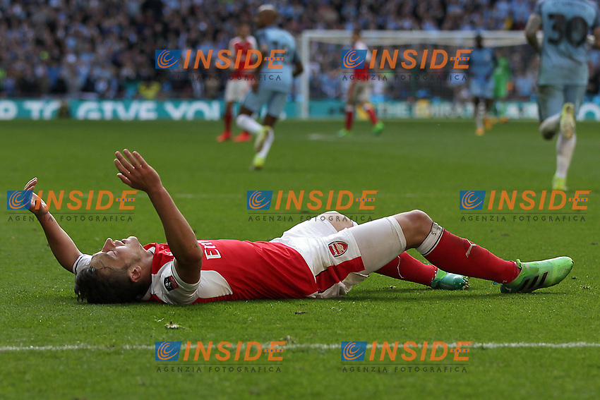Mesut Ozil of Arsenal <br /> London 23/04/2017 <br /> Arsenal vs Manchester City - FA Cup Semi Final <br /> Foto Darren Staples/PHCImages / Panoramic/Insidefoto <br /> ITALY ONLY