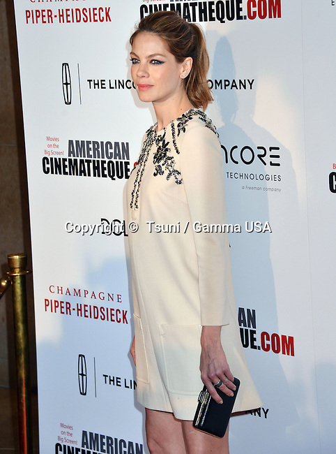 Michelle Monaghan 216 at the American Cinematheque Honoring Matthew McConaughy at the Beverly Hilton in Los Angeles.