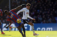 Timothy Fosu-Mensah of Crystal Palace and Dele Alli of Tottenham Hotspur during Crystal Palace vs Tottenham Hotspur, Premier League Football at Selhurst Park on 25th February 2018