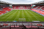 Blick in das Stadion mit Spielszene, <br /> <br /> Sport: Fussball: 1. Bundesliga:: nphgm001:  Saison 19/20: 33. Spieltag: 1. FSV Mainz 05 vs SV Werder Bremen 20.06.2020<br /> Foto: Neis/Eibner/Pool/via gumzmedia/nordphoto<br /><br />DFB regulations prohibit any use of photographs as image sequences and/or quasi-video.<br />Editorial Use ONLY<br />National and International News Agencies OUT<br />  DFL REGULATIONS PROHIBIT ANY USE OF PHOTOGRAPHS AS IMAGE SEQUENCES AND OR QUASI VIDEO<br /> EDITORIAL USE ONLY<br /> NATIONAL AND INTERNATIONAL NEWS AGENCIES OUT