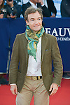 Jonathan Lambert attends the red carpet during the 41st Deauville American Film Festival on September 6, 2015 in Deauville, France