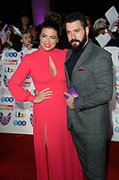 Sophie Austin and Shayne Ward<br /> arriving for the Pride of Britain Awards 2018 at the Grosvenor House Hotel, London<br /> <br /> ©Ash Knotek  D3456  29/10/2018