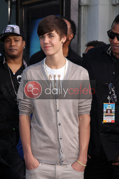 Justin Bieber<br /> at Michael Jackson Immortalized at Grauman's Chinese Theatre, Hollywood, CA 01-26-12<br /> David Edwards/DailyCeleb.com 818-249-4998