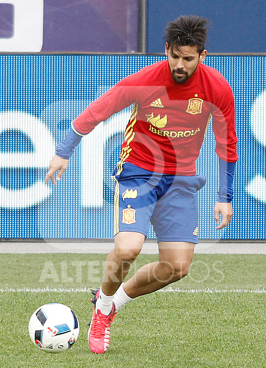 Spain's Nolito during training session previous friendly match. May 31,2016.(ALTERPHOTOS/Acero)