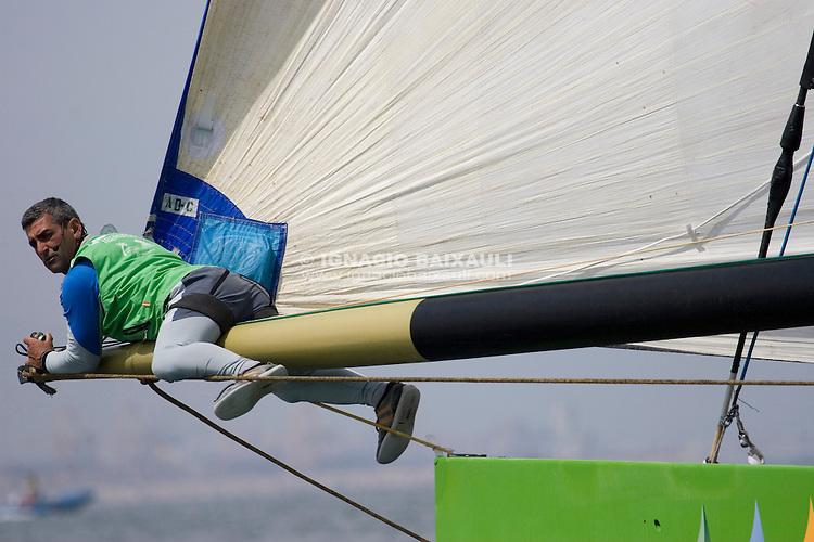 Desafío Español 2007 -  - LOUIS VUITTON CUP - ROUND ROBIN 1 - DAY 1,2,3,4,6,8 - Races cancelled - 2007 abr 16