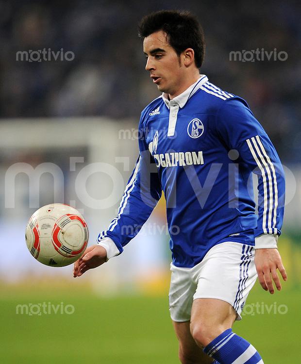 FUSSBALL   DFB POKAL   SAISON 2010/2010   VIERTELFINALE FC Schalke 04 - 1. FC Nuernberg                       25.01.2010 JURADO (FC Schalke 04)