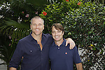 Sean Carrigan and friend Eric who is an American Pilot -  Actor from Y&R donated their time to Southwest Florida 16th Annual SOAPFEST - a celebrity weekend May 22 thru May 25, 2015 benefitting the Arts for Kids and children with special needs and ITC - Island Theatre Co. as it presented A Night of Stars on May 23 , 2015 at Bistro Soleil, Marco Island, Florida. (Photos by Sue Coflin/Max Photos)