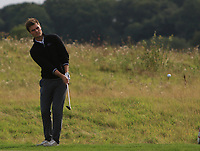 Kristian Krogh Johannessen (NOR) in the rough on the 2nd during Round 1 of the Bridgestone Challenge 2017 at the Luton Hoo Hotel Golf &amp; Spa, Luton, Bedfordshire, England. 07/09/2017<br /> Picture: Golffile | Thos Caffrey<br /> <br /> <br /> All photo usage must carry mandatory copyright credit     (&copy; Golffile | Thos Caffrey)