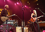 "Paul Reed Smith & Orianthi {who appears in Michael Jackson's ""This is It"" } performs live at The Paul Reed Smith's 20th Anniversary Concert held at The Grove of  Anaheim,in Anaheim,California on January 21,2005. Copyright 2005 by DVS / RockinExposures"