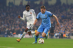 James Milner of Manchester City escapes Ahmed Musa of CSKA - Manchester City vs. CSKA Moscow - UEFA Champions League - Etihad Stadium - Manchester - 05/11/2014 Pic Philip Oldham/Sportimage