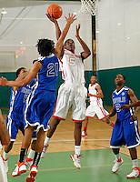 April 10, 2011 - Hampton, VA. USA;  Damyean Dotson participates in the 2011 Elite Youth Basketball League at the Boo Williams Sports Complex. Photo/Andrew Shurtleff