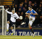 Mark Stewart with Lee Wallace