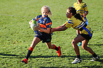 Beachlands-Maraetai Rippa U11 v Te Papapa, Onehunga, Auckland, Saturday 29 June 2019. Photo: Simon Watts/www.bwmedia.co.nz