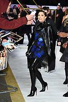 "Naomi Scott<br /> arriving for the ""Charlie's Angels"" premiere at the Curzon Mayfair, London.<br /> <br /> ©Ash Knotek  D3538  19/11/2019"