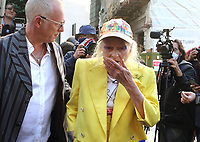 JUL 21 Dame Vivienne Westwood protest at The Old Bailey