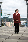 Poulsbo Mayor Becky Erickson at Poulsbo City Hall Jan. 17, 2018. Photo by Daniel Berman.