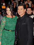 LOS ANGELES, CA - DECEMBER 20: Khloe Kardashian Odom and Mario Lopez attend the FOX's 'The X Factor' Season Finale - Night 2 at CBS Televison City on December 20, 2012 in Los Angeles, California.