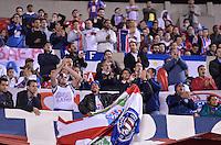 SÃO PAULO, SP, 10 DE JULHO DE 2013 - CAMPEONATO BRASILEIRO - SÃO PAULO x BAHIA: Torcida do Bahia durante São Paulo x Bahia, partida antecipada válida pela 11ª rodada do Campeonato Brasileiro de 2013, disputada no estádio do Morumbi em São Paulo. FOTO: LEVI BIANCO - BRAZIL PHOTO PRESS.