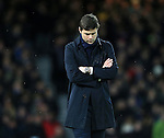 Tottenham's Mauricio Pochettino looks on dejected<br /> <br /> - English Premier League - West Ham Utd vs Tottenham  Hotspur - Upton Park Stadium - London - England - 2nd March 2016 - Pic David Klein/Sportimage