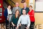 Ciara Ruane from Tralee and Eddie O'Connor from Cork celebrated their engagement with their parents Joan and Daniel Ruane from Tralee and Eamon and Mary O'Connor from Cork in the Lord Kenmare restaurant, Killarney last Friday night.