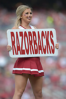 NWA Democrat-Gazette/ANDY SHUPE<br /> Arkansas Alabama Saturday, Oct. 6, 2018, at Razorback Stadium in Fayetteville. Visit nwadg.com/photos to see more photographs from the game.