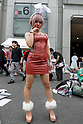 A cosplayer poses for a photograph during the first day of Comic Market 92 (Comiket) event at Tokyo Big Sight on August 11, 2017, Tokyo, Japan. The annual event that began in 1975 focuses on manga, anime, game and cosplay. Organizers expect more than 500,000 visitors to attend the 3-day event. (Photo by Rodrigo Reyes Marin/AFLO)