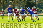 Attacking the ball in the County U21 Hurling championship SF played in Lixnaw on Sunday are Sean Sheehan Causeway and Jeremy McKenna Lixnaw