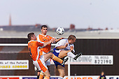23/09/2000 Football League Division 3 Blackpool v Chesterfield<br /> <br /> 38126 Bushell /Wellens<br /> <br /> © Phill Heywood