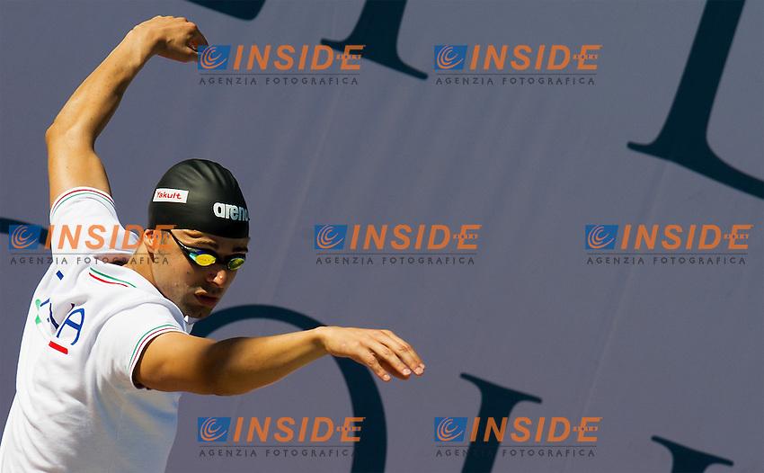 PIZZETTI Samuel, Italy - Carabinieri<br /> 400 freestyle men<br /> 50 Settecolli Trofeo Internazionale di nuoto 2013<br /> swimming<br /> Roma, Foro Italico  12 - 15/06/2013<br /> Day01 batterie heats<br /> Photo Giorgio Scala/Deepbluemedia/Insidefoto