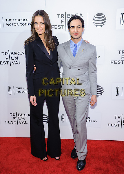 15 April 2016 - New York, New York- Zac Posen, Katie Holmes. &quot;All We Had&quot; screening at Tribeca Film Festival 2016. <br /> CAP/ADM/MS<br /> &copy;MS/ADM/Capital Pictures