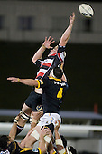 Andrew Van der Heijen vails to get a hand on the lineout throw.  Air New Zealand Cup rugby game between Counties Manukau Steelers & Wellington played at Mt Smart Stadium on the 31st August 2007. The Score was 13 all at halftime, with Wellington going on to win 33 - 18.