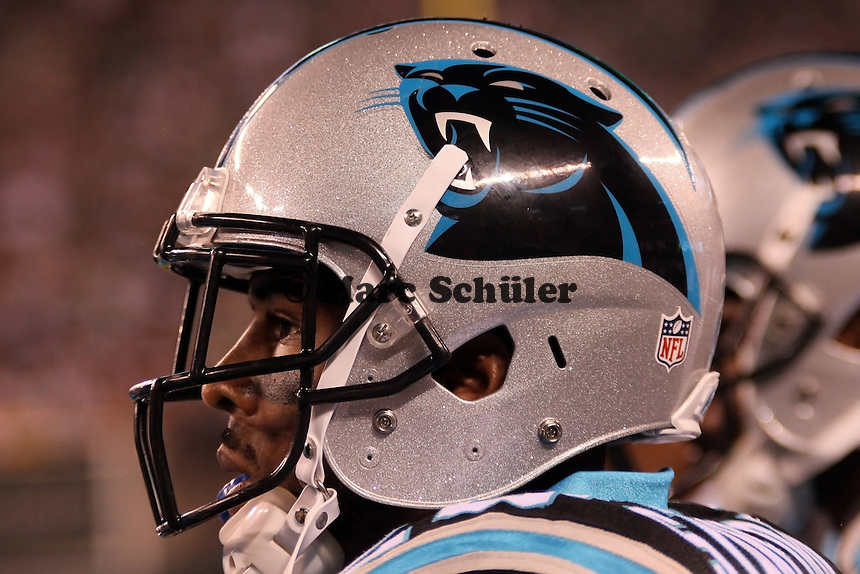 Helm der Carolina Panthers