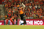 8th January 2018, The WACA, Perth, Australia; Australian Big Bash Cricket, Perth Scorchers versus Melbourne Renegades; Ashton Turner of the Perth Scorchers hits to the on side during his innings of 70