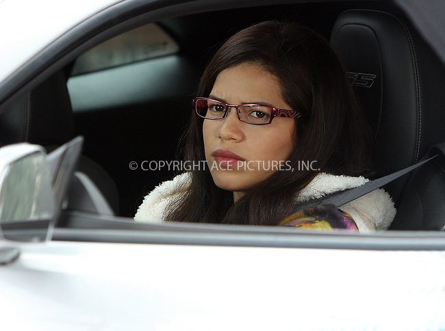 WWW.ACEPIXS.COM . . . . .  ....September 18 2009, New York City....Actress America Ferrera on the Brooklyn set of the TV show Ugly Betty on September 18 2009 in New York City....Please byline: AJ Sokalner - ACEPIXS.COM..... *** ***..Ace Pictures, Inc:  ..tel: (212) 243 8787..e-mail: info@acepixs.com..web: http://www.acepixs.com