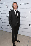 Stefan Larsson arrives at the Future of Fashion 2017 runway show at the Fashion Institute of Technology on May 8, 2017.
