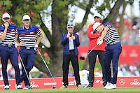 Zach Johnson US Team tees off the 12th tee during Thursday's Practice Day of the 41st RyderCup held at Hazeltine National Golf Club, Chaska, Minnesota, USA. 29th September 2016.<br /> Picture: Eoin Clarke | Golffile<br /> <br /> <br /> All photos usage must carry mandatory copyright credit (&copy; Golffile | Eoin Clarke)