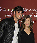 Kelley Missal & boyfriend Tyler Schavoikow at My Big Gay Italian Wedding on March 18, 2011 (also 3-17- & 3-20) at St. Luke's Theatre, New York City, New York. (Photo by Sue Coflin/Max Photos)