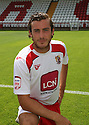 Lawrie Wilson of Stevenage  at the Stevenage FC team photo shoot at The Lamex Stadium, Broadhall Way, Stevenage on Saturday, 24th July, 2010.© Kevin Coleman 2010