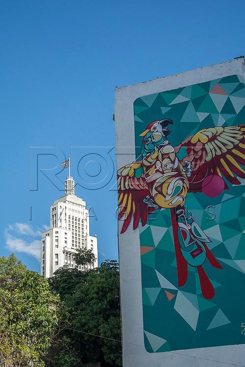 Edificio Altino Arantes também denominado Banespa, São Paulo-SP, 07/2016.