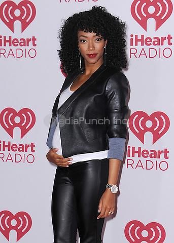 LAS VEGAS, NV - SEPTEMBER 19:  Sonequa Martin-Green at the 2014 iHeartRadio Music Festival at the MGM Grand Garden Arena on September 19, 2014 in Las Vegas, Nevada. PGSK/MediaPunch