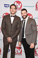 Glen Carloss &amp; Jay Hutton at the TV Choice Awards 2017 at The Dorchester Hotel, London, UK. <br /> 04 September  2017<br /> Picture: Steve Vas/Featureflash/SilverHub 0208 004 5359 sales@silverhubmedia.com