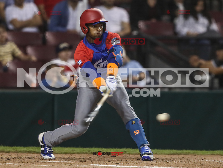 Yoalkis Cespedes de Cuba, durante el partido de beisbol de la Serie del Caribe entre Alazanes de Granma Cuba vs las &Aacute;guilas del Zulia Venezuela en el Nuevo Estadio de los Tomateros en Culiacan, Mexico, Sabado 4 Feb 2017. Foto: Luis Gutierrez/NortePhoto.com.    ****<br /> <br /> Actions, during the Caribbean Series baseball match between Granma Cuba vs Alajuelas de Zulia Venezuela at the New Tomateros Stadium in Culiacan, Mexico, Saturday 4 Feb 2017. Photo: Luis Gutierrez / NortePhoto.com