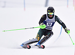 FRANCONIA, NH - MARCH 10: Max Roeisland of Vermont participates in the men's slalom at the Division I Men's and Women's NCAA Skiing Championships held at Jackson Ski Touring on March 10, 2017 in Jackson, New Hampshire. (Photo by Gil Talbot/NCAA Photos via Getty Images)