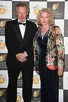 Nicholas Farrell and wife, Stella Gonet<br /> arriving for the RTS Awards 2019 at the Grosvenor House Hotel, London<br /> <br /> ©Ash Knotek  D3489  19/03/2019