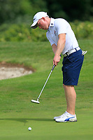 Cathal Butler (Kinsale) on the 3rd green during the AIG Barton Shield Munster Final 2018 at Thurles Golf Club, Thurles, Co. Tipperary on Sunday 19th August 2018.<br /> Picture:  Thos Caffrey / www.golffile.ie<br /> <br /> All photo usage must carry mandatory copyright credit (© Golffile   Thos Caffrey)