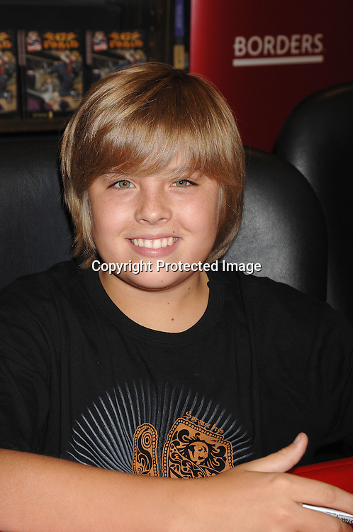 "Dylan Sprouse ..posing for photos at a signing for their new book..""Sprouse Bros 47 R.O.N.I.N on September 19, 2007 at ..Borders Books in Time Warner Center. ..Photo by Robin Platzer, Twin Images......212-935-0770"