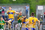 Aidan O'Mahony, Kerry in action against Gary Brennan, Clare in the Munster Senior Championship Semi Final in Cusack Park, Ennis on Sunday.